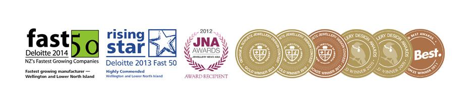 Deloitte Fast 50, Rising Star, Jewellery design awards, best award winners