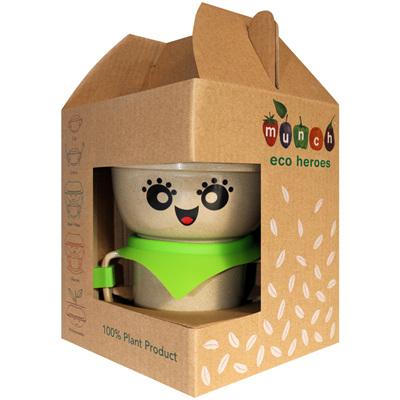 Munch Eco Hero Feeding Set