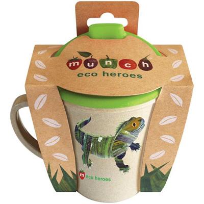 Munch Eco Hero Toddler Cup - Lizard