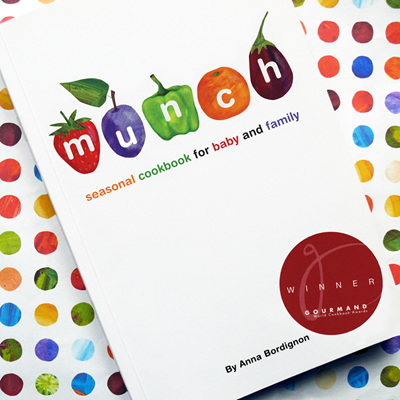 Munch seasonal cookbook for baby and family