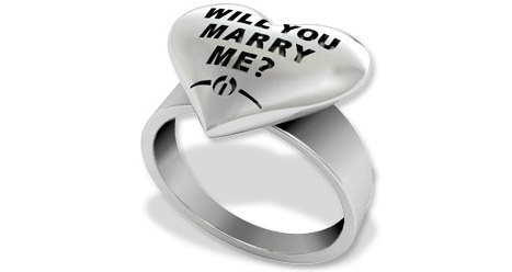 Wilshi Proposal Ring - Will you marry me ring?